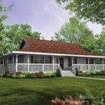 Small Farmhouse Plans Wrap Around Porch Bistrodre
