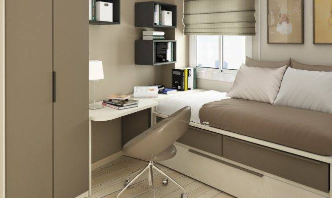 Small Floorspace Kids Rooms