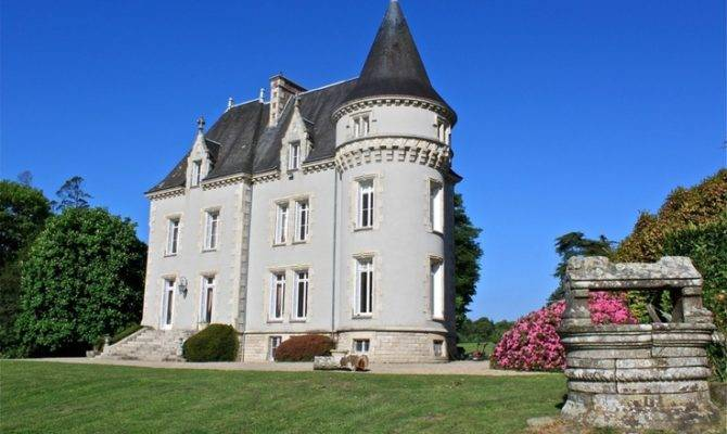 Small French Castle Castles Home