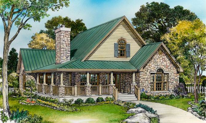 Small French Country Cottage House Plans Parsons Bend Rustic