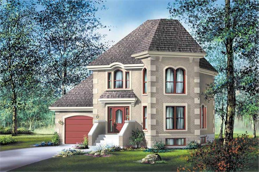 Small French European House Plans Home Design