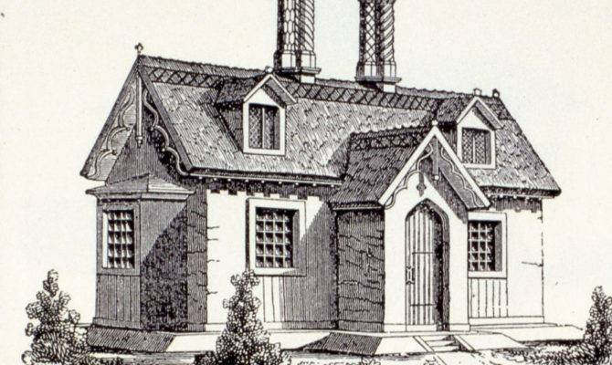 Small Gothic Cottage House Plans