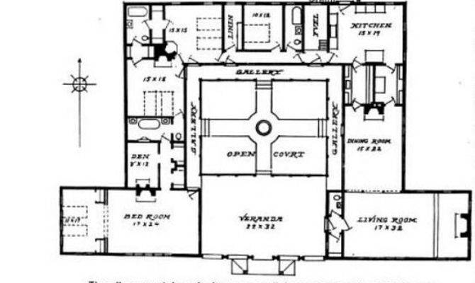 Small Hacienda Style Home Plans Homedesignpictures