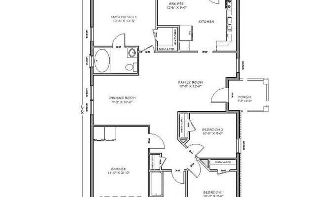 Small Home Designs Floor Plans Bedroom