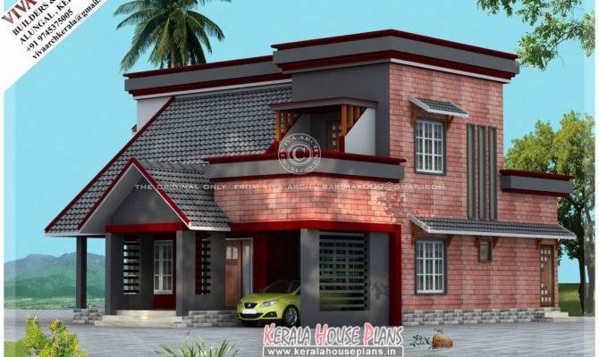 Small Home Plan Kerala Lovely Beautiful