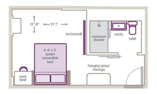 Small Hotel Room Floor Plan Pinterest