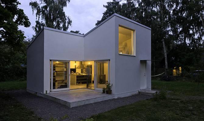 Small House Architecture Design Modern Mirrors