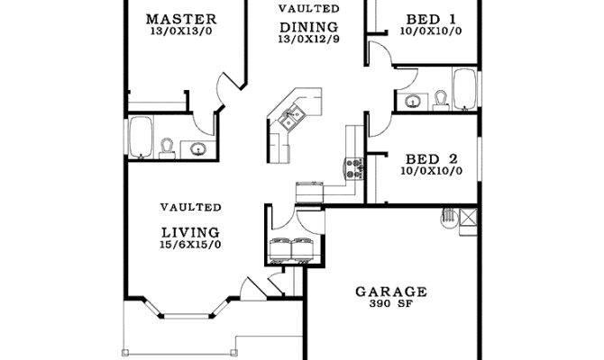 Small House Blueprints Plans Building