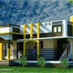 Small House Design Contemporary Style Kerala Home Floor