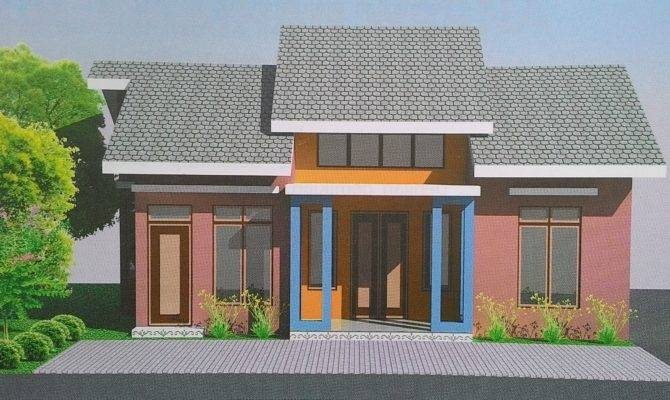 Small House Design Eye Catching Color Game Tiny