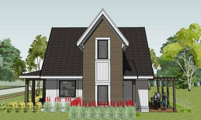 Small House Design Modern Traditional Model