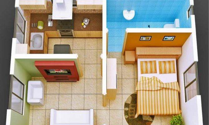 Small House Floor Plans Cottage