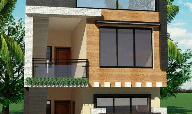 Small House Front Elevation Modern