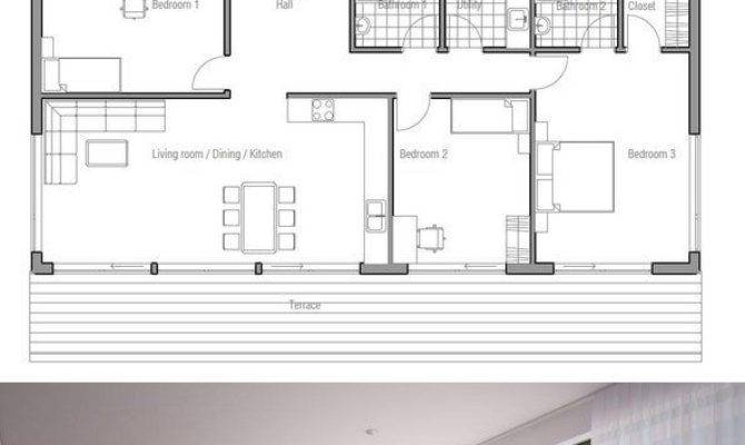 Small House Plan Affordable Building Budget Floor