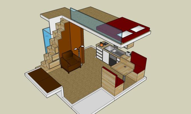 Small House Plan Loft Exploiting Spaces Plans