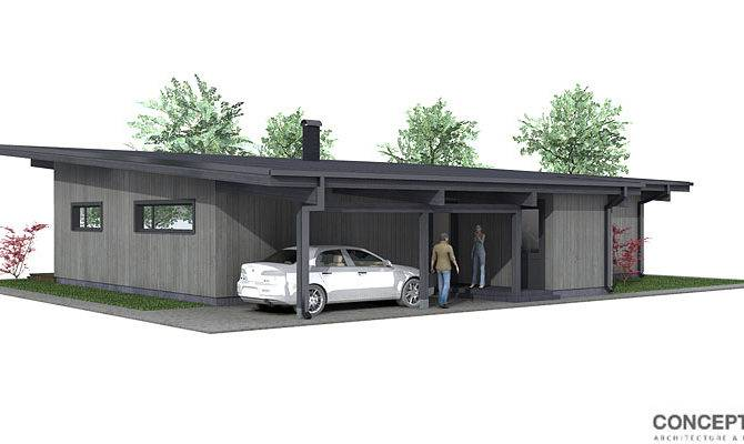 Small House Plan Modern Style