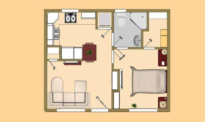 Small House Plan Under Good Guest Live
