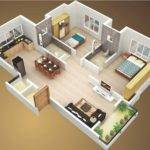 Small House Plans Bedroom Terrace