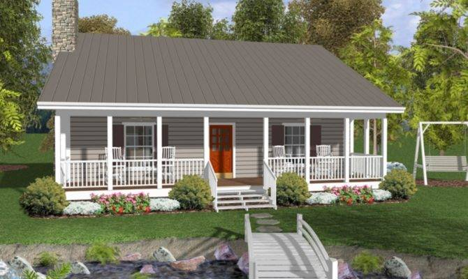 Small House Plans Large Porches