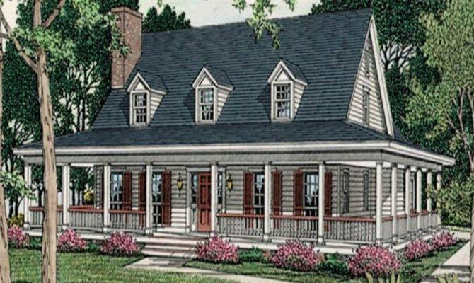 Small House Plans Porches Country Wood Design