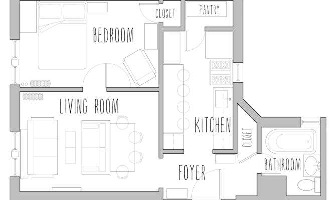 Small House Plans Under Less Than Square Feet