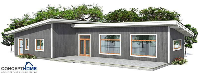 Small House Wide Lot Affordable Building Budget