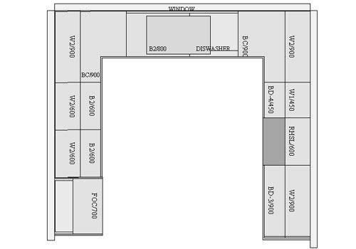 Small Kitchen Floor Plans Pthyd