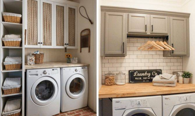 Small Laundry Room Ideas Organization More Love
