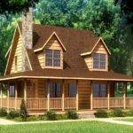 Small Log Cabin Homes Home House Plans