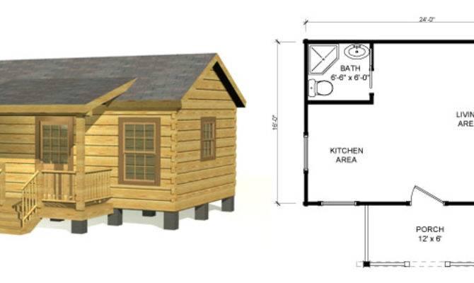 Small Log Cabin Kits Homes Southland