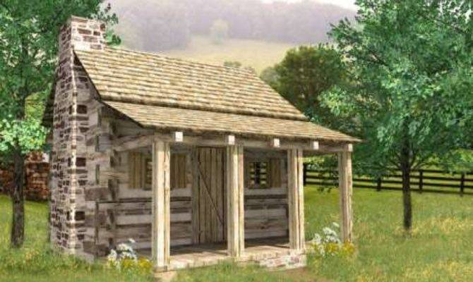 Small Log Cabin Plans Inside Cabins