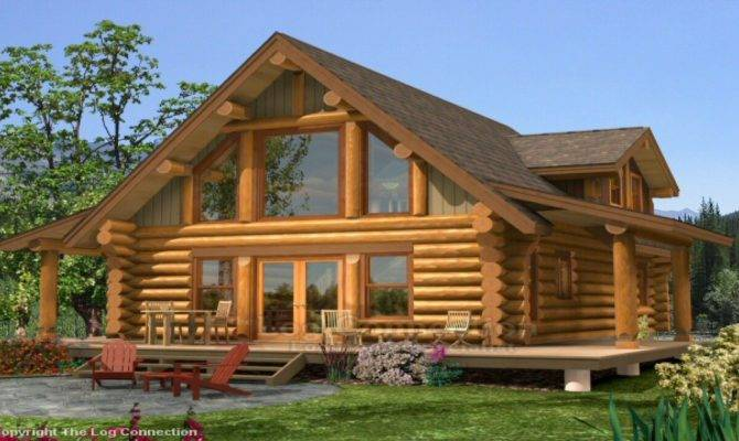 Small Log Home Loft Plans Prices