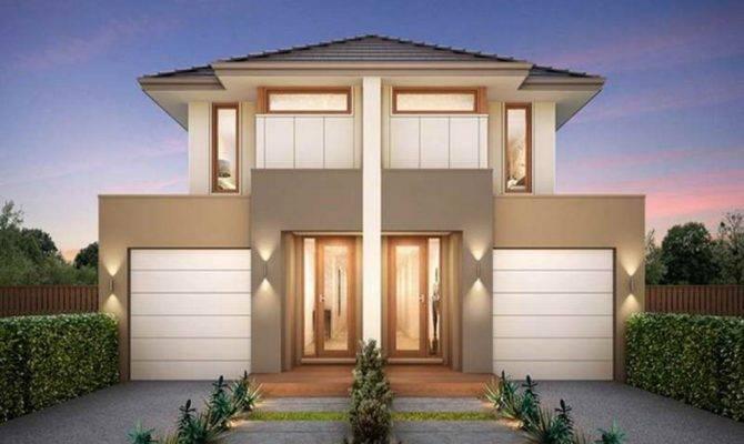 Small Modern Duplex House Plans Design Center