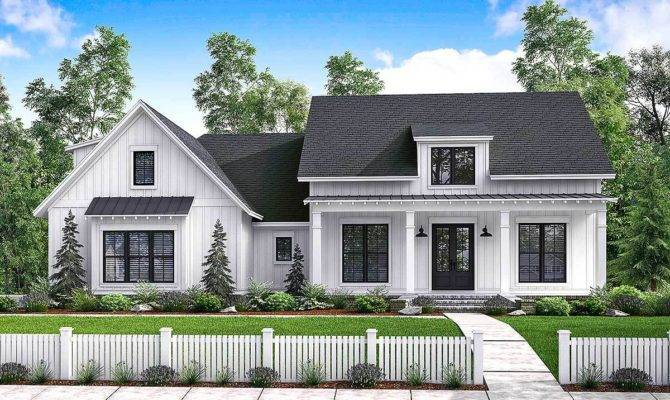 Small Modern Farmhouse Plans