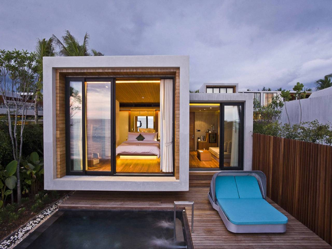 Small Modern Homes Around World Home Decor