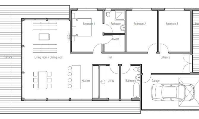 Small Modern House Plans Loft Tiny