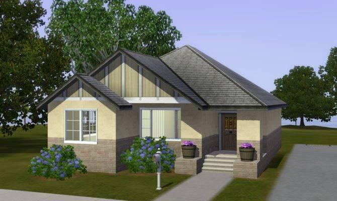Small Modern House Sims