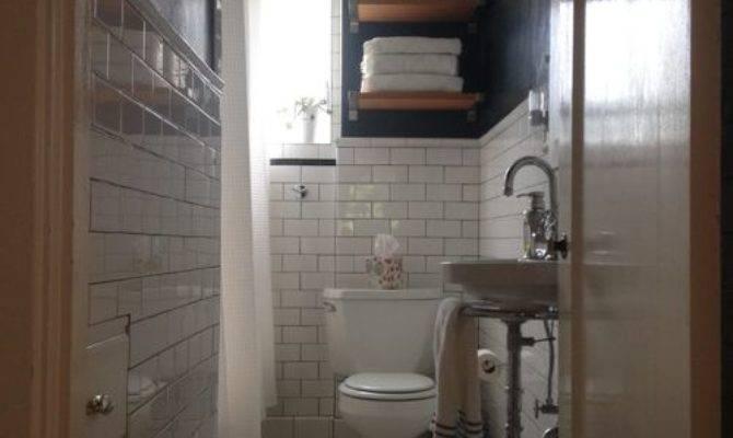 Small Narrow Bathrooms Houzz