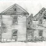 Small Old House Drawing Roll Archives