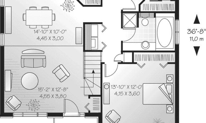 Small One Storey House Plans Homes Floor