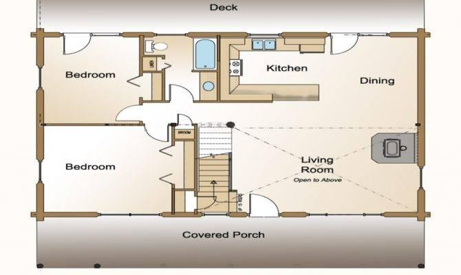 Small Open Concept House Floor Plans Design