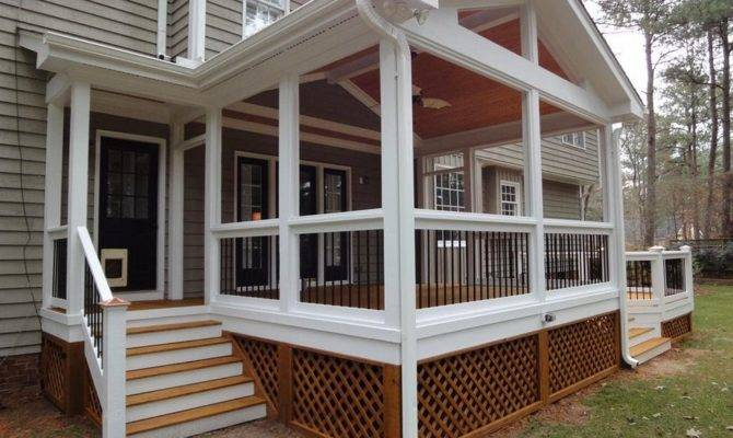 Small Porch Ideas Charming Decoration
