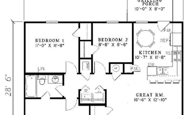 Small Ranch House Floor Plans Homes