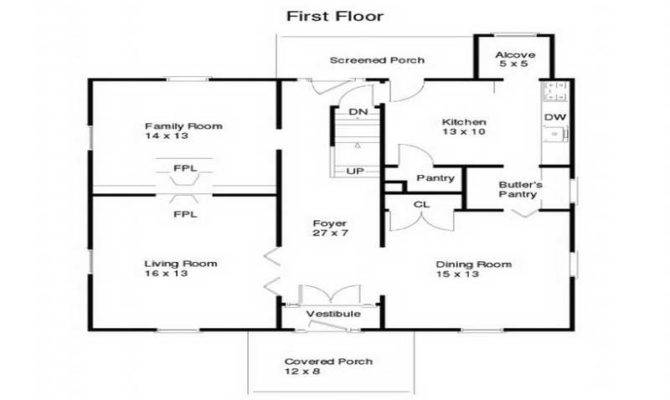 Small Ranch House Plans Floor