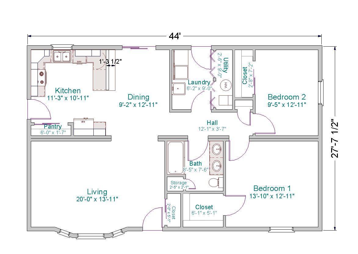 Small Ranch House Plans Smalltowndjs