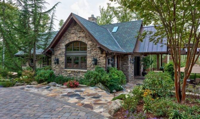 Small Rock House Plans Stone English