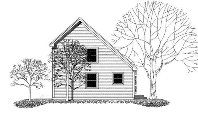 Small Saltbox Floor Plans Home Deco