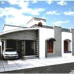 Small Single Story House Modern Home Design Plans