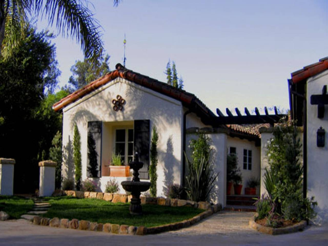 Small Spanish Style Homes Interior Colonial