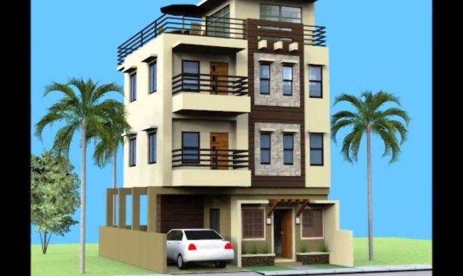 Small Storey House Roofdeck Youtube